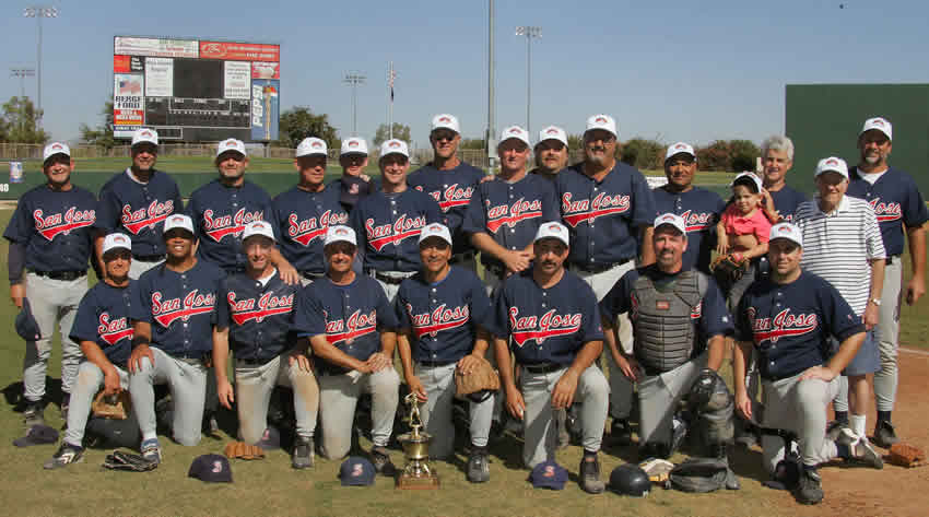 2005 World Series 45+ National Team Picture