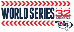 2019 MSBL World Series Logo